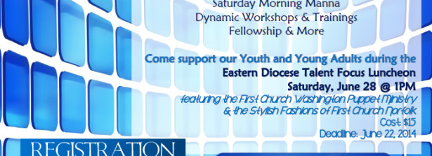 Eastern Diocese Talent Focus Luncheon