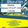 2016 EDYC Choir Reherasl Dates