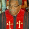 Bishop J.K. Mitchell's Service arrangements and attire