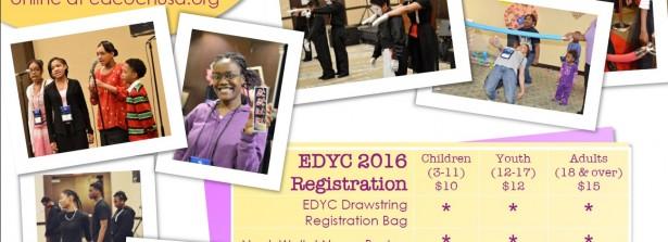2016 EDYC Registration