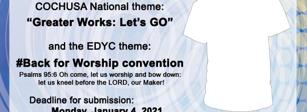 2021 EDYC T-Shirt Design Contest